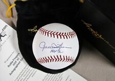 ROLLIE FINGERS HOF92 Signed Baseball REGGIEJACKSON.COM Oakland Athletics HOF COA
