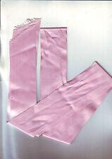 longueur large de ruban satiné - rose  -neuve- /  5 cm large et  74 cm longueur