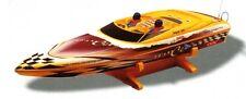Aqua-Jet Rennboot fertig aufgebaut mit Fernsteuerung, Elekt.-Regler Länge 740mm