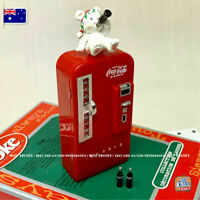 Mini Coke Fridge - Great for Coles Little Shop 2 / Miniature dollhouse 1:12