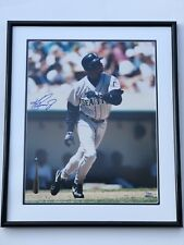 Ken Griffey Jr Signed Autographed 16x20 Color Photo Mariners #91/250 Framed UDA