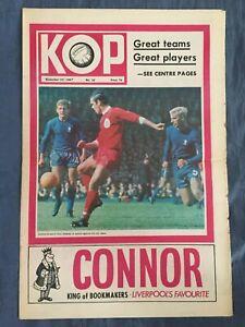 Liverpool FC  -  KOP Newspaper  -  November 22nd 1967  -  Issue No 32