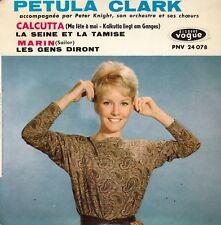 "45 T EP PETULA CLARK  ""CALCUTTA"""