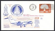 GULFSTREAM STA SPACE SHUTTLE TRAINING AIRCRAFT FLIGHT 10-1-1976 Space Cover