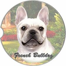 French Bulldog Car Coaster Absorbent Keep Cup Holder Dry Stoneware New Dog Puppy