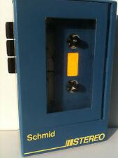 Schmid WM-122 Cassette Player Walkman Kassettenspieler 20mV each channel Blue