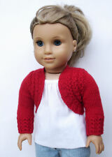 Knitting Pattern - Charlotte Bolero Sweater For American Girl 18 Inch Doll