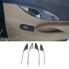 Carbon Fiber Interior Door Armrest Panel Trim Fit For Buick Lacrosse 2009-2012