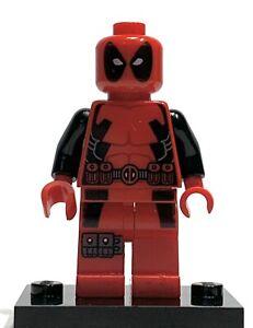 Lego Deadpool Minifigure (6866) Loose Slight Ware Discounted Marvel