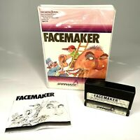 FACEMAKER Radio Shack TANDY TRS-80 Cartridge Game Computer Software w/ Case