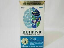 Schiff Neuriva Brain Performance +Vitamins B6 B12 & Folic Capsules 30ct Exp 6/22