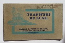 1930s British Transfers Deluxe Catalog w/ Great Logo Designs for Cycles