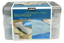 Pebeo Setacolor Opaque Tissu travaux de peinture Box Set 10 x 45 ml PEBEO Assortiment Couleur