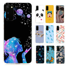 For Samsung Galaxy S21 Ultra S20 FE Note 20 Pattern Case Slim Painted TPU Cover