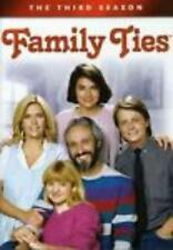 Family Ties: The Complete Third Season 3rd DVD Movie Video 4-Disc Michael J. Fox