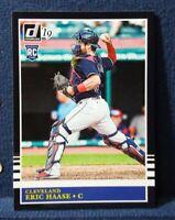 2019 Donruss #246 Eric Haase RC '85 Retro Rookie Cleveland Indians