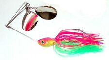 PHANTOM TWIN SPIN SPINNER BAIT 1oz LURE PINK/CHARTREUSE