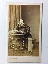 Victorian Carte De Visite CDV Photo - Gentleman- Franck - Paris - Loud Trousers