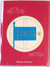 LANCIA MICHAEL FROSTICK ISBN:0901564222 CAR BOOK