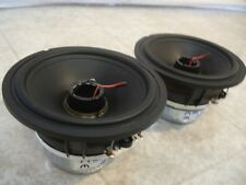 "Vifa 3.5"" Speakers.M&K.MP6 Woofers.Home Audio Pair.Mids.Kreisel Replacements."