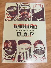 B.A.P - BADMAN [ORIGINAL POSTER] *NEW* K-POP BAP