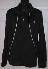 Adidas Womens Black & White Zip-up Lite Jacket Large