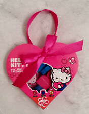 Hello Kitty Pink Blue And Red Package Of 12 Mini Erasers