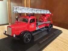 Fire truck 1944 MERCEDES BENZ L4500F  Yat Ming 1:43