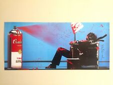 "MR. BRAINWASH LIMITED RELEASE MURAL ORIGINAL POP ART LITHOGRAPH PRINT "" SPRAY """