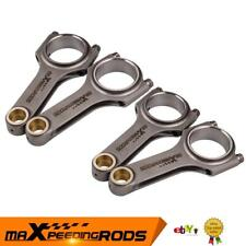 Forged 4340 Connecting Rods Conrods for Nissan SR20 S13 S14 Silver 180SX Pulsar