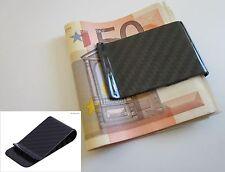 Carbon Geldklammer 100% Kohlefaser Geldscheinklammer Geldspange Geldclip NEU#101