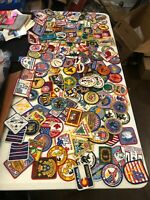 Lot of 139 Boy Scout Jamboree Patches some vintage