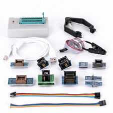 New XGecu TL866II Plus USB Programmer 15000+IC SPI Flash NAND EEPROM +10 Adapter