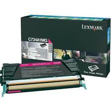 ORIGINAL Lexmark Cartouche d'encre C734A1MG MAGENTA c734 c736 x734 x736 x738