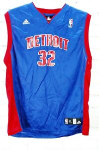 NBA Detroit Pistons 32 Hamilton Basketball Jersey Adidas Youth Boy's XL (18-20)