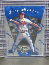 1997 Totally Certified Greg Maddux Platinum Blue w/ Coating #/1999 Braves L392