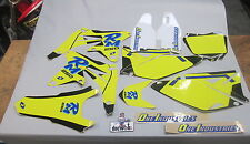 Suzuki RMZ250 2010-2016 One Industries Old School Throwback retro graphics 1G36