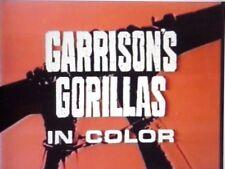 RARE DVD SET = GARRISON'S GORILLAS Complete Series & Unaired Pilot 14 discs