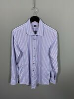 PAUL SMITH Shirt - 17 - Striped - Great Condition - Men's