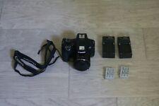 Canon PowerShot SX60 HS 65X 16.1MP Digital Camera; 2 batteries