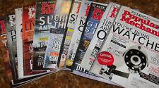 14 Issues Year 2007 2008 Popular Mechanics Magazine Set