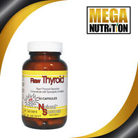 Natural Sources Raw Thyroid 60 Capsules | Supplement Glandular Concentrate