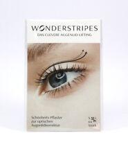 Wonderstripes Gr. M Schlupflider adé, Sofort Augenlidstraffung ohne OP