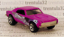 RARE Target Set Exclusive '67 CHEVY CAMARO 1967 Purple BIRD Tampo HOT WHEELS
