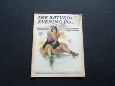 1930 JANUARY 11 THE SATURDAY EVENING POST MAGAZINE - ILLUSTRATED COVER -SP 1365