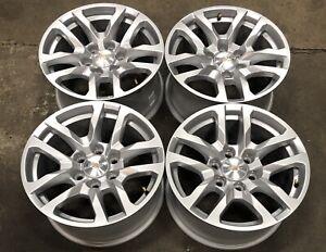 "Chevy Suburban Tahoe 18"" Silver Factory OEM Wheels Rims 19-21 5912 #2800"