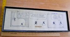 1962 B.C. by JOHNNY HART ORIGINAL NEWSPAPER COMIC STRIP ART signed Ants Comic Art