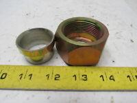 "Hydraulic JIC 37° Flare Tube NUT and Sleeve Set -20 1-1/4"" (1-5/8-12 Thread)"