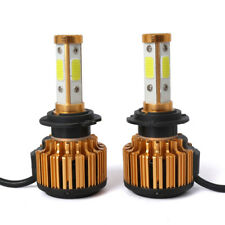 2x Canbus H7 LED Headlight Bulbs Hi/Low Beam White Fog Light 26000LM 240W 6500K