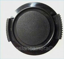 Sanp-on Front Dust Safety Lens Cap Cover For Sony HC23 HC23E HC21 HC21E + Keeper